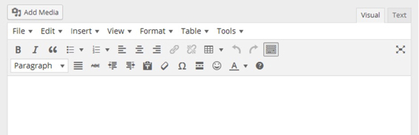 WordPressに入れたいプラグイン15選/TinyMCE Advanced